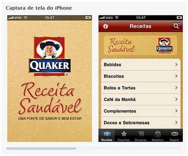 Aplicativo Quaker